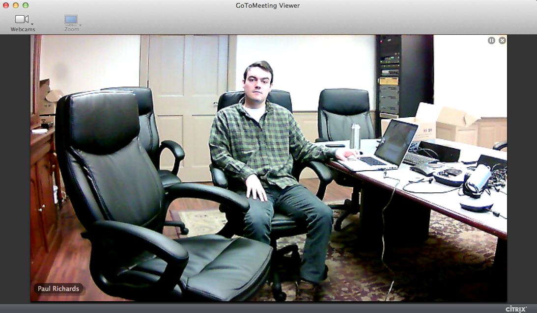 GoToMeeting with BigSHOT-HD