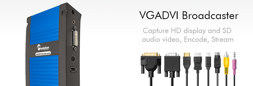 VGA and DVI Broadcasting