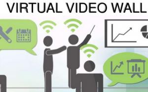 virtual Video wall