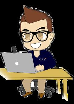 ConferenceMan_at_Desk