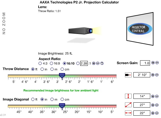 Projector_Central_Online_tool