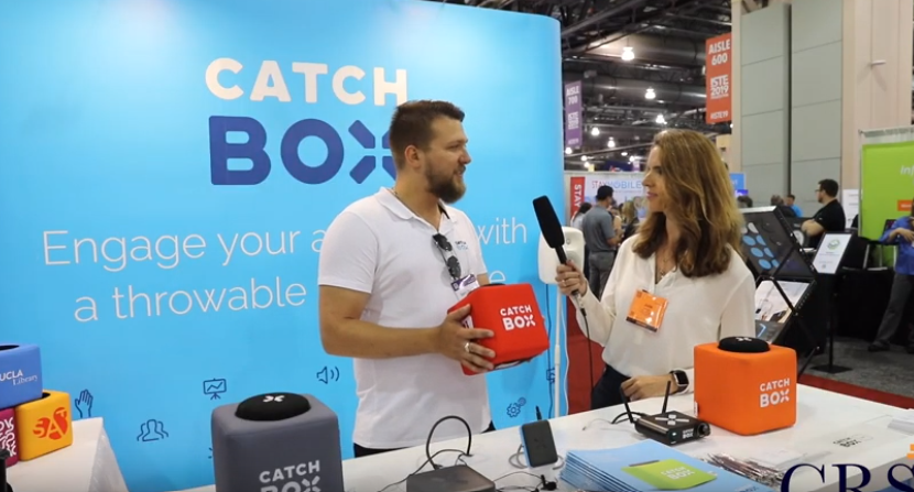 Catchbox booth at ISTE 2019