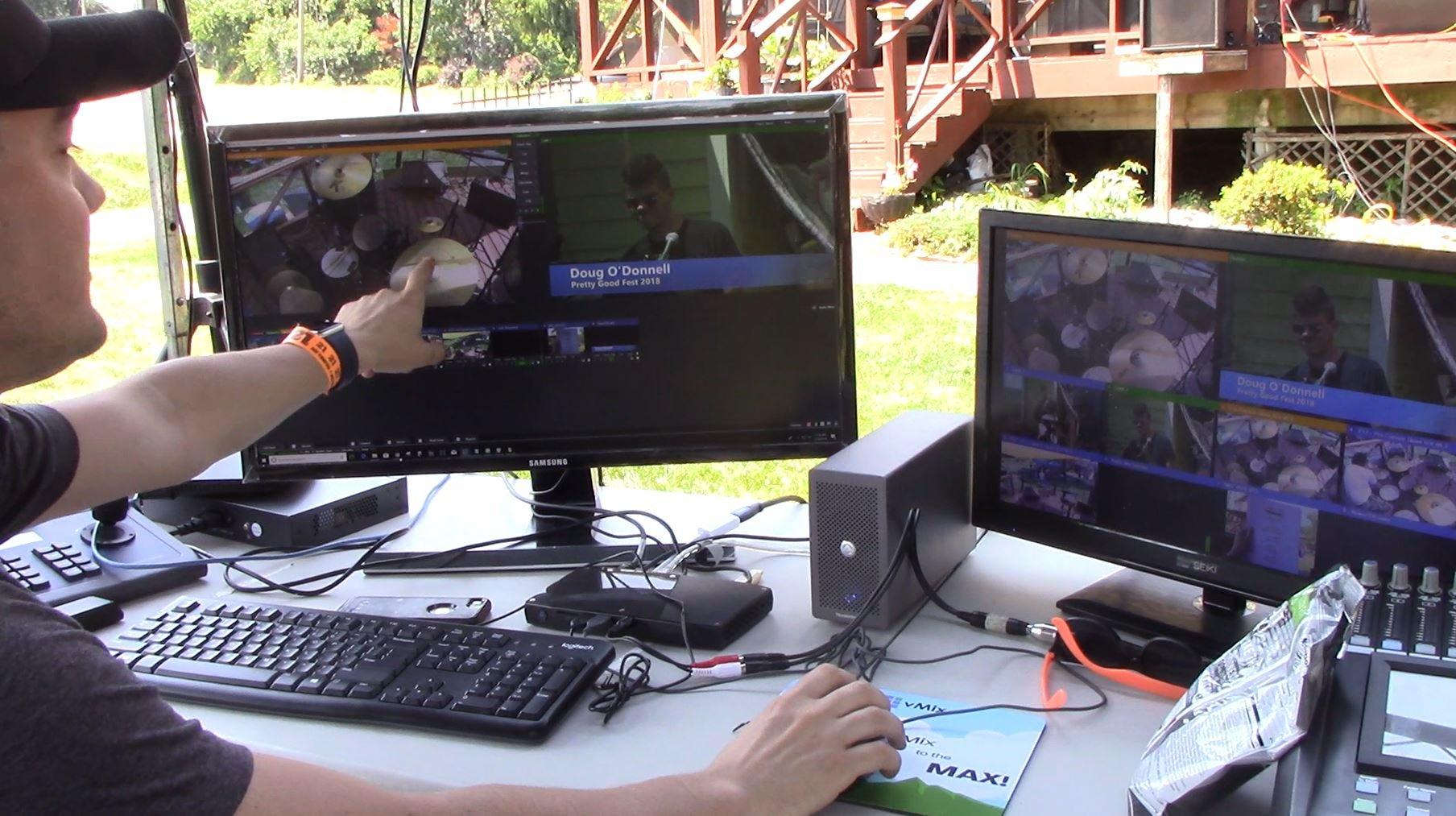 PTZOptics Producer Kit Setup in Aciton