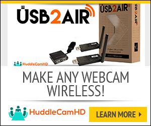 wireless webcam USB2AIR